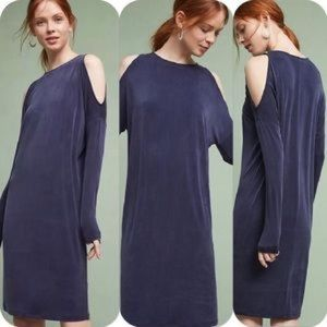Anthropologie Annalyn Dress Cold Shoulder S